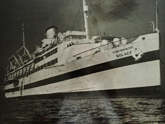 Initially, the lighted hospital ship would sail out to sea, as hospitals were not supposed to be attacked. But after Miller's ship was attacked it stayed with the fleet.