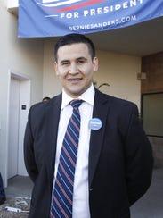 Jose Miranda, director de la campaña de Bernie Sanders