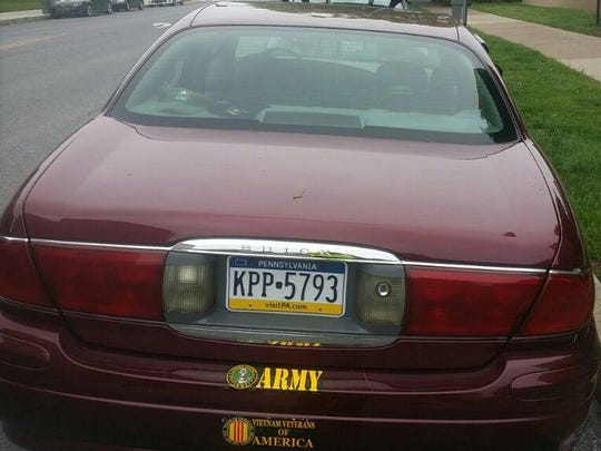 Reaves may be driving this maroon Buick, according to state police.