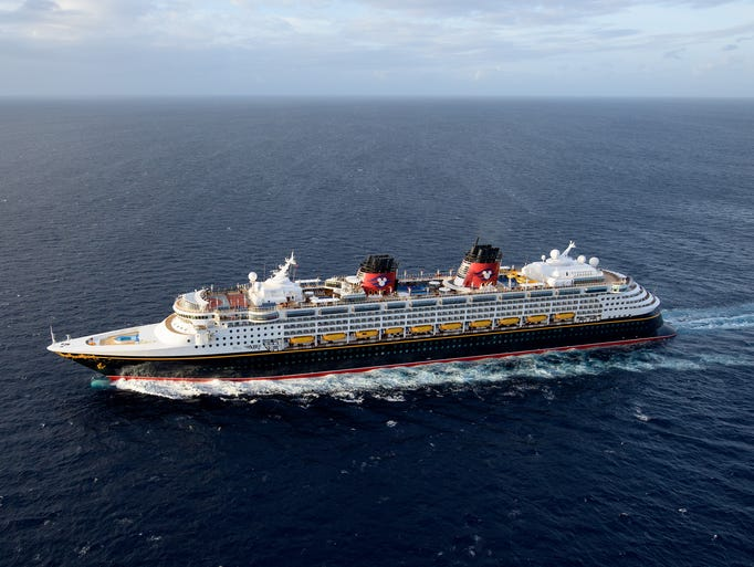 Cruise Ship Tours Inside The Revamped Disney Wonder - The inside of a cruise ship