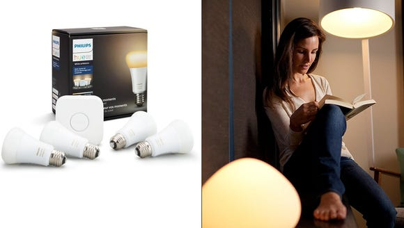 Set the mood with these smart bulbs.