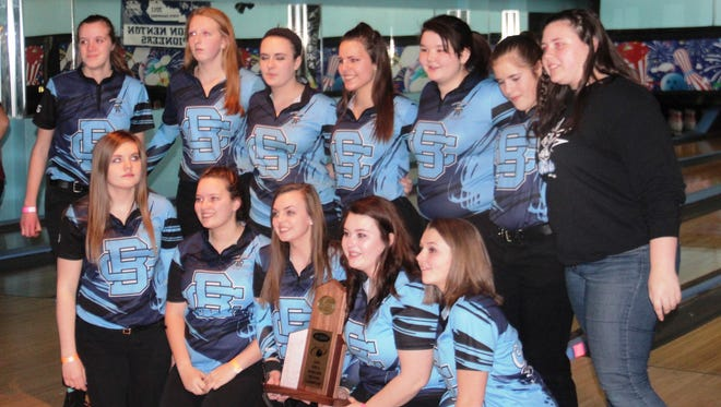 KHSAA Region 6 team bowling championships. Jan. 27, 2016. Super Bowl Erlanger KY.  Boone County won its fourth straight regional title in girls' bowling.