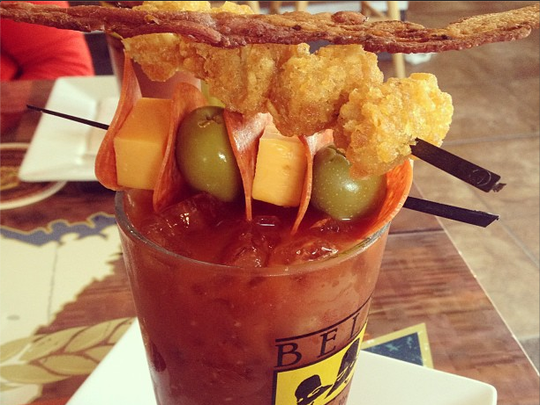 Tick Tock Lounge's Bloody Mary