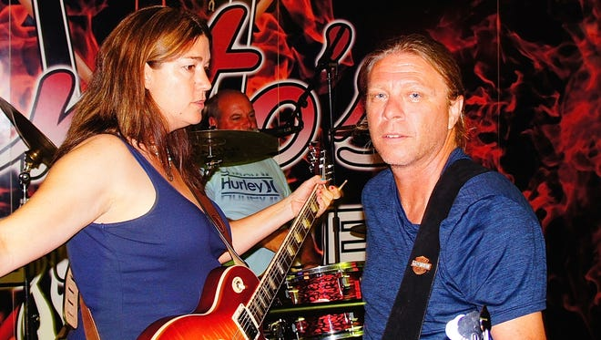 Laura and Shannon Rettschlag along with drummer and vocalist John Palmer form the powerhouse rock trio the Seeds.