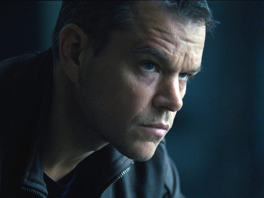 Matt Damon in 'Jason Bourne.'