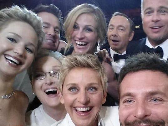The Oscars 'selfie'