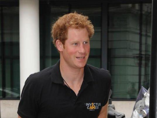Prince Harry reveals public-speaking secret