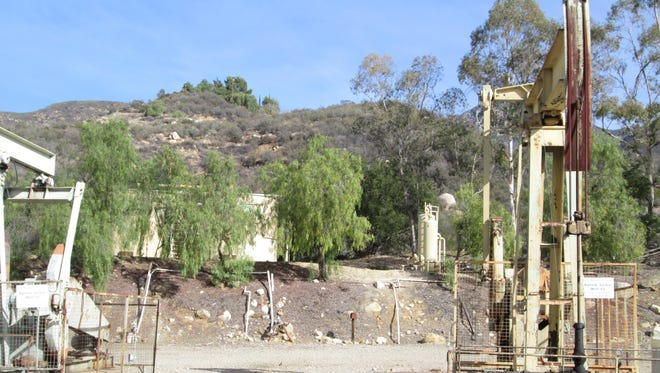 Oil well property is located in the Upper Ojai.