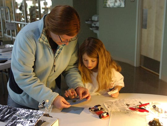 Science Saturdays will be held 11 a.m. to noon (ages 2 to 6) and 1 to 2:30 p.m. (ages K to 8) March 10. The hands-on events will be on the second Saturday of the month through April 28. River Bend Nature Center, 2200 Third St.