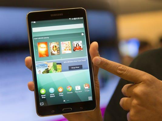 Digital Life A Closer Look Reading Tablets
