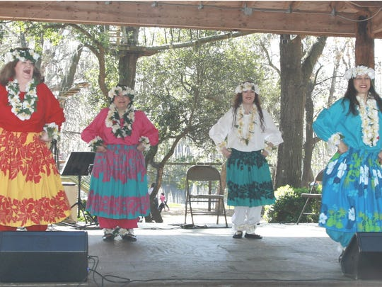 Nancy Redig's the Mau'oli'oli Dancers will perform traditional dances on Saturday at the Tallahassee Museum's Matinee of the Arts.