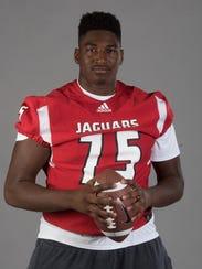 OL All-Area Darius Washington, West Florida High School