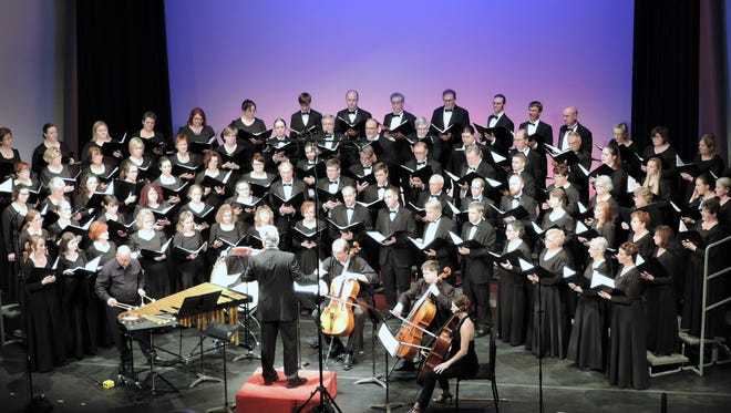 The Bel Canto Chorus performance Wednesday evening included music by Kile Smith and Latvian composer Ēriks Ešenvalds.