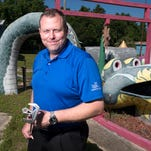 Marty Stanovich, the executive director of First Tee of Northwest Florida has plans for the Goofy Golf property on Navy Blvd. The organization purchased the mini golf course and is planning to turn the iconic Pensacola attraction in to a teaching facility for kids.