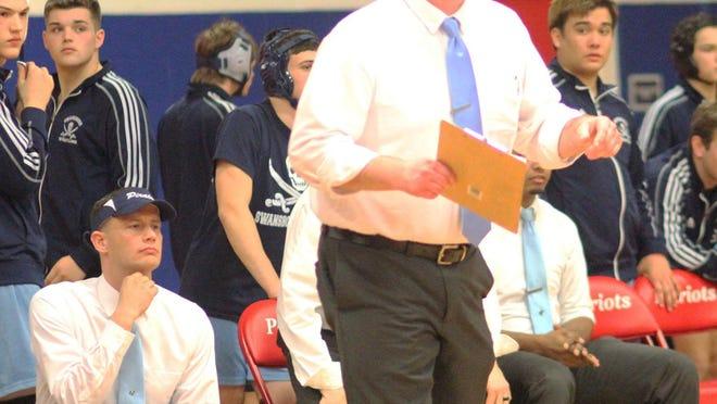 Brandon Spiece has taken over as head wrestling coach at White Oak High.