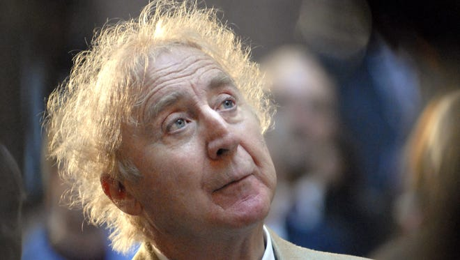 "In this April 9, 2008, file photo, actor Gene Wilder listens as he is introduced to receive the Governor's Awards for Excellence in Culture and Tourism at the Legislative Office Building in Hartford, Conn. Wilder, who starred in such film classics as ""Willy Wonka and the Chocolate Factory"" and ""Young Frankenstein"" has died. He was 83. (AP Photo/Jessica Hill, File)"