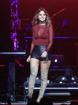 Maren Morris opens for Keith Urban on Nov. 11, 2016, at Bridgestone Arena. She is now in the midst of her first headlining tour.