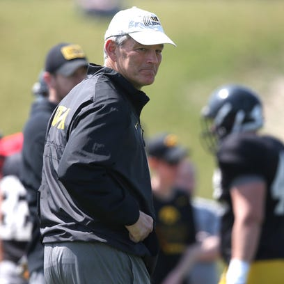 Iowa coach Kirk Ferentz and his staff have reportedly offered 11 of the top 100 prospects in the 2017 class, according to Rivals.com.
