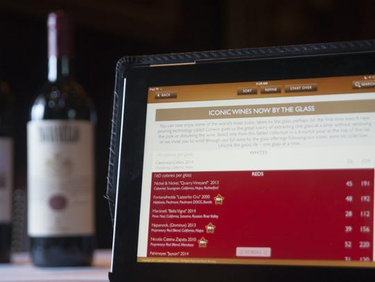 A state-of-the art interactive iPad wine list, that