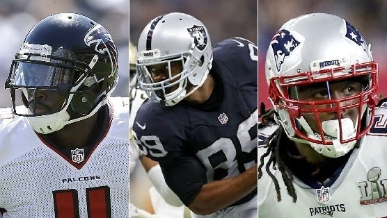 Julio Jones, Amari Cooper and Dont'a Hightower are part of a large number of current NFL players who suited up for Nick Saban at Alabama.