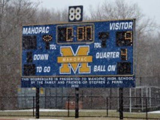 Mahopac scoreboard