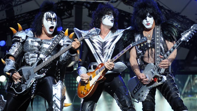 Kiss at Rock and Roll Hall of Fame