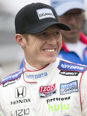 Ryan Briscoe aims for another shot at the Indianapolis 500, a race he's started on the front row for three times.