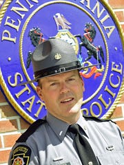 Lt. Gary Carter, photographed Tuesday, June 14, 2016, is now the commander of Pennsylvanina State Police Barracks, Chambersburg.