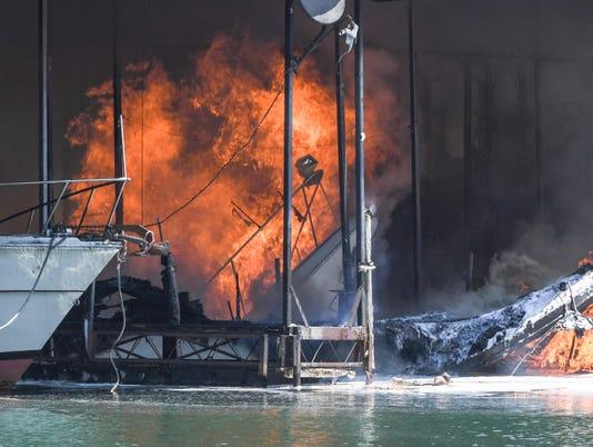 Portman Marina Fire