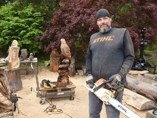 What I Love: Chainsaw carving