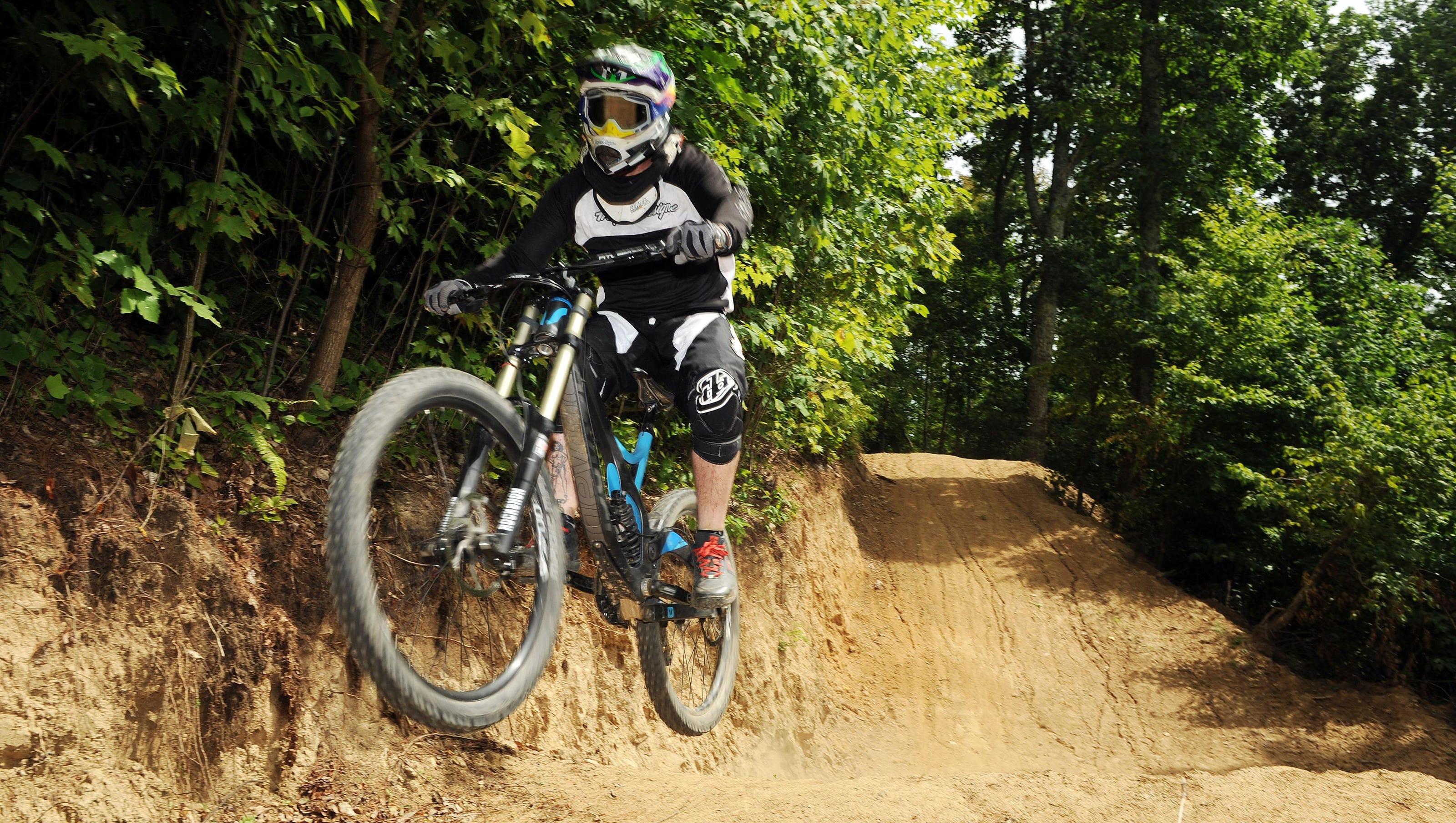 Mars Hill Gravity Mountain Bike Park Unique In Southeast