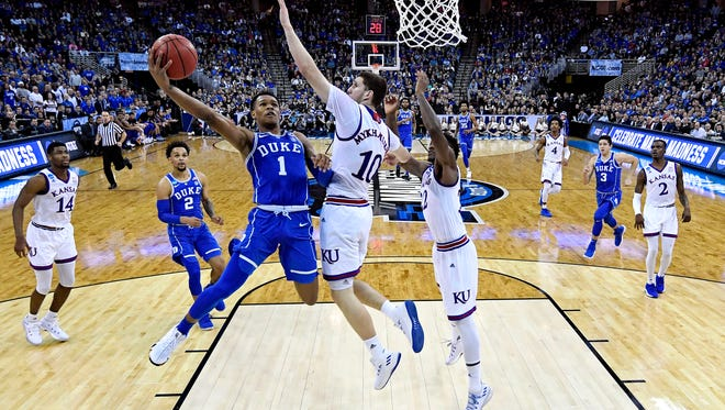 Trevon Duval, guard, Duke.