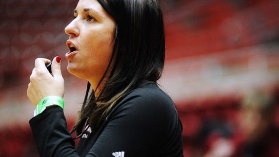 Amy Williams is taking her top four assistant coaches