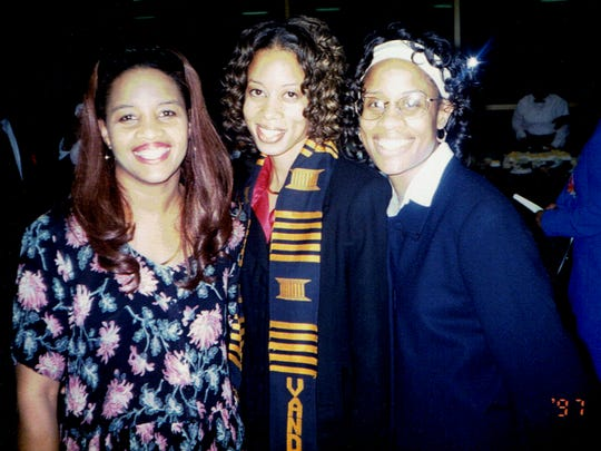 In 1997, Stephaine Hale, middle, graduated from Vanderbilt.