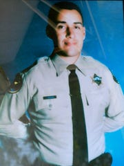 Sheriff's Deputy Peter J. Aguirre was killed investigating a 1998 domestic dispute in Meiners Oaks.