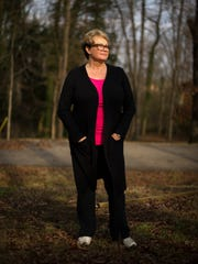 Camden resident Cindy Wheatley poses for a portrait