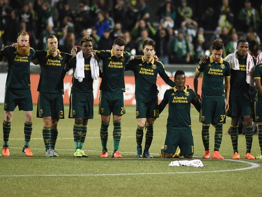 Portland Timbers players