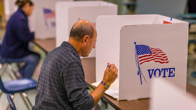 Arkansas Voters First submitted nearly 99,000 signatures for its proposed constitutional amendment on redistricting.