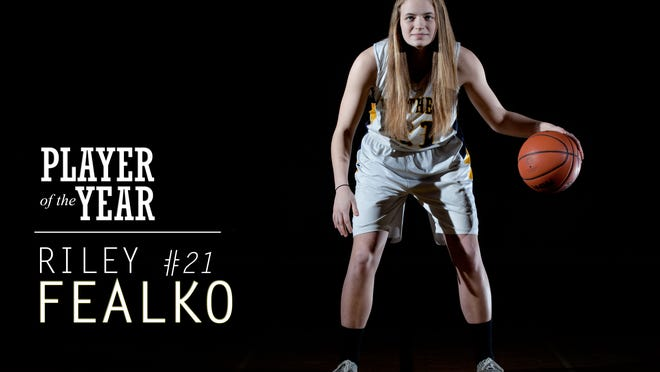 Port Huron Northern senior Riley Fealko is the Times Herald Girls Basketball Player of the Year.