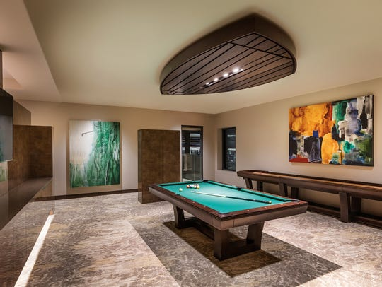 The clubhouse at Bighorn includes not just amenities