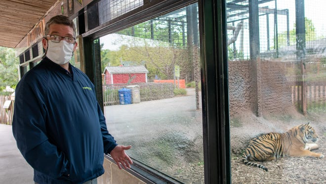 Brendan Wiley, director of the Topeka Zoo, says organizers hope to raise $150,000 for the zoo via a virtual fundraiser on Oct. 10 from 6-8:30 p.m. on the zoo Facebook page.
