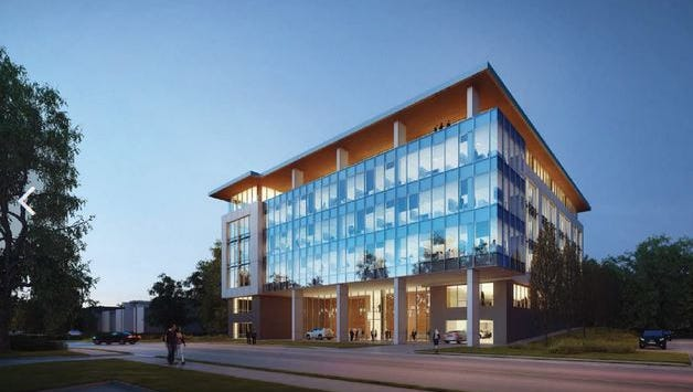 Panattoni Development Co. plans this office project at 1 Music Circle East.