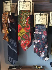 Ties for men, $10-ish to $14-ish.