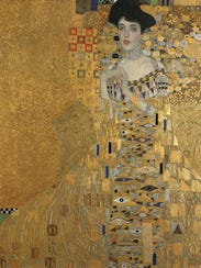 Gustav Klimt's 'Portrait of Adele Bloch-Bauer I' painted