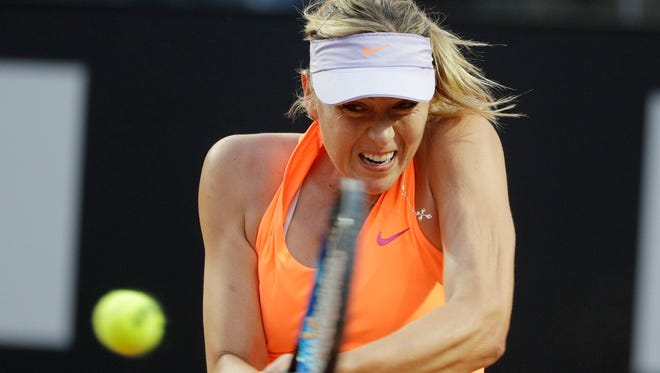 Maria Sharapova is preparing for the U.S. Open.