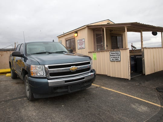 The Upper Fruitland Transfer Station is one of three