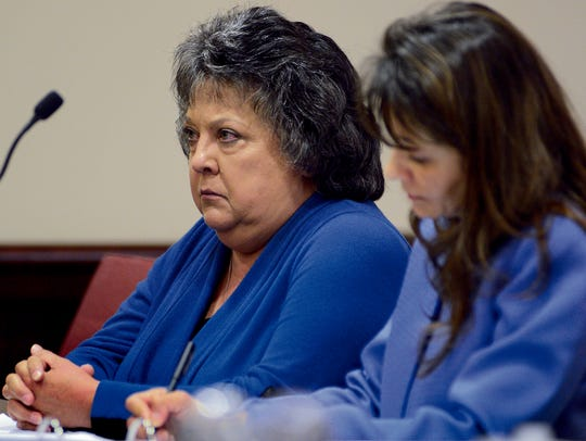 Former New Mexico Secretary of State Dianna Duran,