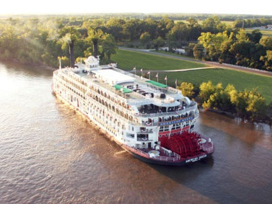 American Queen Steamboat Company operates cruises on Mississippi River and tributaries.