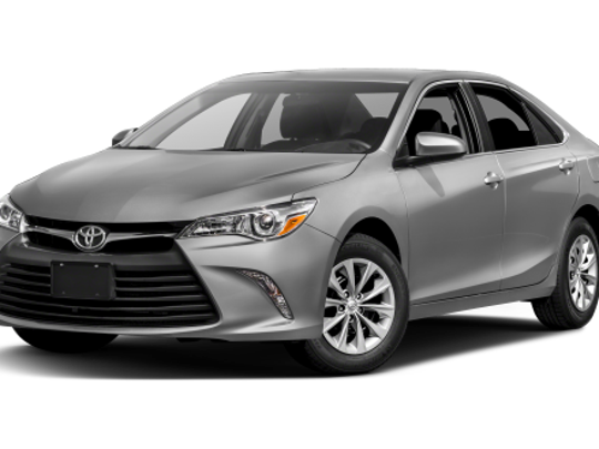 Police say Luis Jesus Morales is driving a silver Toyota Camry similar to this vehicle.