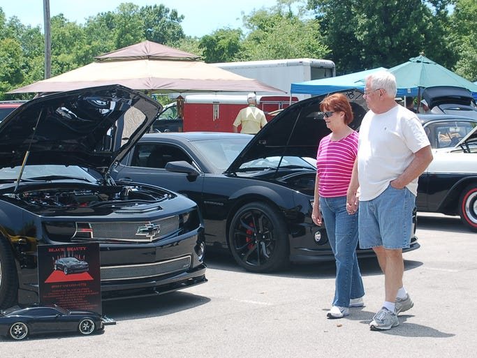 Boy Scout Troop 458 hosted the 19th annual car show on Saturday, June 14 at Riverbluff Park in Ashland City.